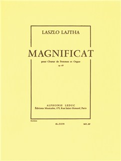 Laszlo Lajtha: Magnificat Op.60 (Choral-Female accompanied) Buch | Chor