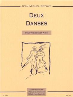 Jean-Michel Defaye: Deux Danses (Trombone/Piano) Books | Trombone, Piano Accompaniment