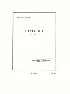 Eugene Bozza: Dialogue (2 Trompettes) Livre | Trompette (Duo)
