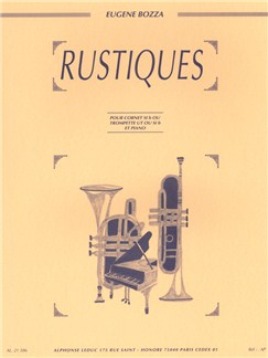 Eugène Bozza: Rustiques (Trumpet/Piano) Books | Trumpet, Piano Accompaniment