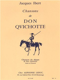 Jacques Ibert: Chansons De Don Quichotte No.1 - Chanson Du Depart (Bass/Piano) Books | Bass Voice, Piano Accompaniment
