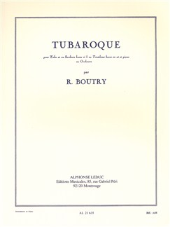 Roger Boutry: Tubaroque Books | Tuba, Piano Accompaniment