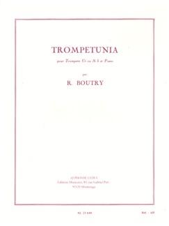 Roger Boutry: Trompetunia (Trumpet/Piano) Books | Trumpet, Piano Accompaniment