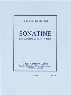 Jacques Castérède: Sonatina For Trumpet And Piano Books | Trumpet