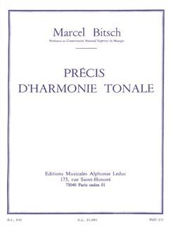 Marcel Bitsch: Précis D'harmonie Tonale Libro |
