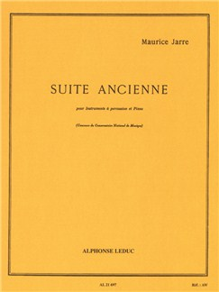 Maurice Jarre: Suite Ancienne (Drums/Piano) Books | Percussion, Drums, Piano Accompaniment