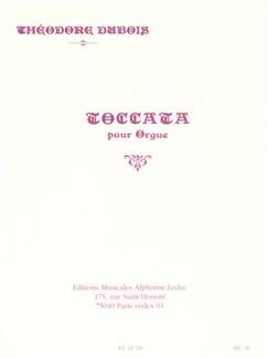 Théodore Dubois: Toccata For Organ Books | Organ