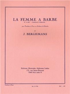José Berghmans: La Femme À Barbe (Trombone/Piano) Books | Trombone, Piano Accompaniment