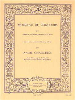 André Chailleux: Morceau de Concours (Trumpet/Piano) Buch | Trompete, Klavierbegleitung