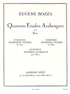 Eugène Bozza: 14 Etudes-Arabesques (Flute) Buch | Querflöte