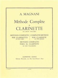 Aurelio Magnani: Méthode Complète Vol.1 (Clarinet) Libro | Clarinete