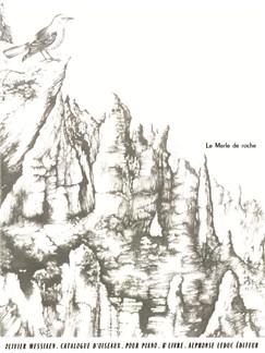 Olivier Messiaen: Catalogue D'Oiseaux - Piano (Volume 6) Books | Piano