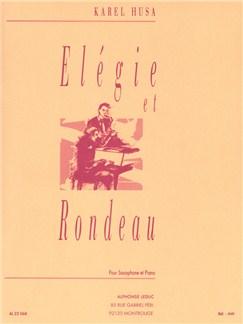 Karel Husa: Élégie Et Rondeau (Saxophone/Piano) Books | Saxophone, Piano Accompaniment