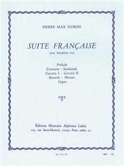 Pierre Max Dubois: Suite Française Books | Alto Saxophone
