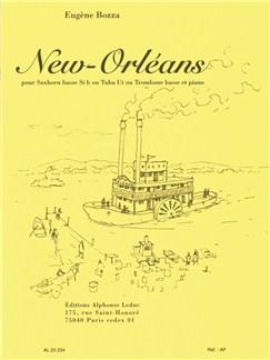 Eugène Bozza: New Orleans (Bass Trombone or Tuba/Piano) Books | Bass Trombone, Tuba, Piano Accompaniment