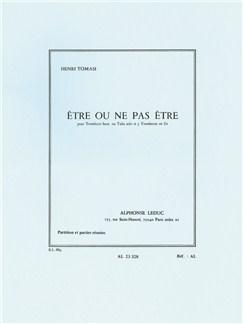Henri Tomasi: Être Ou Ne Pas Être (4 Trombones) Books |