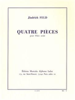 Jindřich Feld: Quatre Pièces For Solo Flute Books | Flute