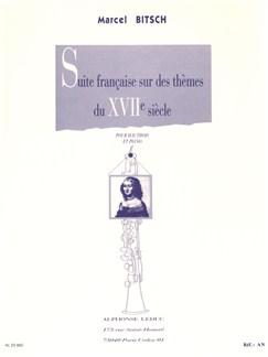 Marcel Bitsch: Suite Française Sur Des Thèmes Du Xviième Siècle (Oboe/Piano) Books | Oboe, Piano Accompaniment
