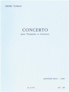 Henri Tomasi: Concerto (Trumpet/Orchestra) Books | Trumpet