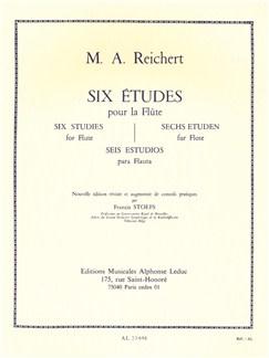 Matthieu André Reichert: Six Etudes For Solo Flute Books | Flute