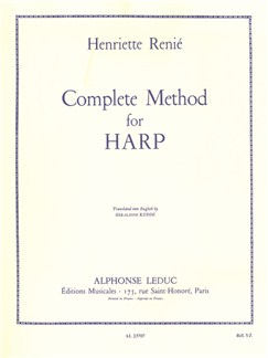 Henriette Renié: Complete Method For Harp Books | Harp