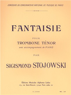Sigismond Stojowski: Fantaisie Op.38 (Trombone/Piano) Books | Trombone, Piano Accompaniment