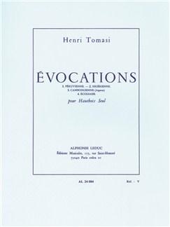 Henri Tomasi: Evocations (Solo Oboe) Books | Oboe