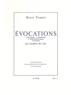 Henri Tomasi: Évocations (Solo E Flat Saxophone) Bog | Altsaxofon