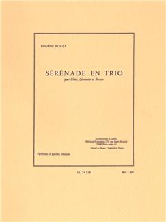 Eugène Bozza: Sérénade En Trio (Flute/Clarinet/Bassoon) Books | Flute, Clarinet, Bassoon