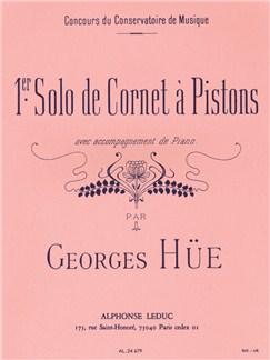 Georges Hüe: Premier Solo De Cornet À Pistons Books | Cornet, Piano Accompaniment