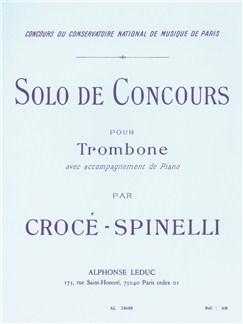 Bernard Crocé-Spinelli: Seule De Concours Livre | Trombone
