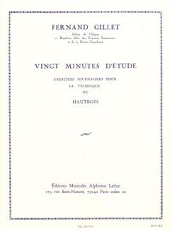 Fernand Gillet: 20 Minutes D'Etude (Oboe) Books | Oboe