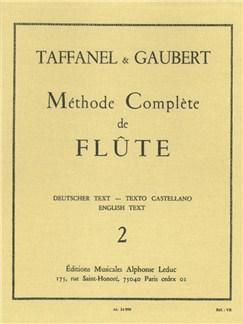 Paul Taffanel Et Philippe Gaubert: Méthode Complète De Flûte Vol. 2 Libro | Flauta