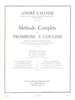 André Lafosse: Méthode Complète Vol.3 (Trombone) Libro | Tombón
