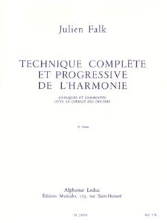 Julien Falk: Technique Complète Et Progressive De L'Harmonie - Vol. 2 Livre | Theory Papers
