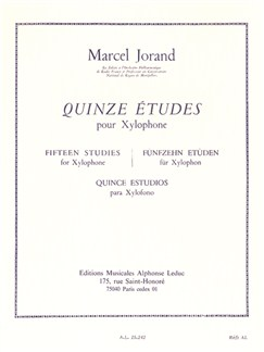 Marcel Jorand: Fifteen Studies for Xylophone Books | Percussion