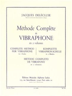 Jacques Delécluse: Méthode Complète Pour Vibraphone Vol.2 Libro | Percusión, Vibráfono