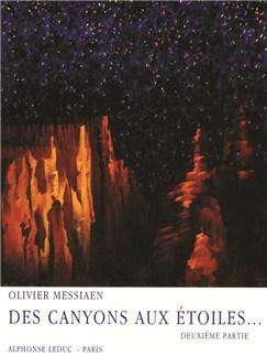 Olivier Messiaen: Des Canyons Aux Étoiles... Vol.2 (Score) Books | Orchestra