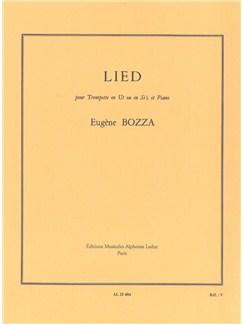Eugène Bozza: Lied (Trumpet/Piano) Books | Trumpet, Piano Accompaniment