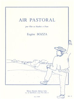 Eugène Bozza: Air Pastoral For Oboe Or Flute And Piano Books | Oboe, Piano Accompaniment