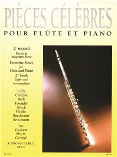 Pièces Célèbres Vol.2 (Flute/Piano) (Gaubert/Moyse/Caratgé) Books | Flute