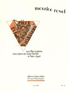 Maurice Ravel: Pièce en Forme de Habañera (Flute and Guitar) Buch | Querflöte, Gitarre