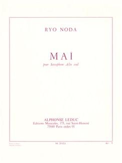 Ryo Noda: Maï (Alto Saxophone) Books | Alto Saxophone