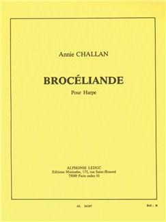 Annie Challan: Brocéliande (Harp) Books   Harp