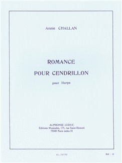 Annie Challan: Romance pour Cendrillon (Harpe Seule) Livre | Harpe