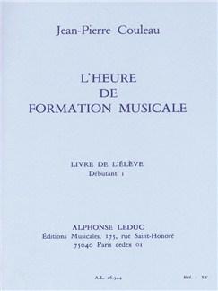 Couleau: Heure De Formation Musicale Débutant 1/Livre De L'élève Books | Theory Books and Papers