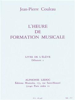 Couleau: Heure De Formation Musicale Débutant 2/Livre De L'élève Books | Theory Books and Papers