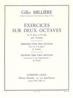 Gilles Millière: Exercices Sur Deux Octaves (Trombone) Buch | Posaune