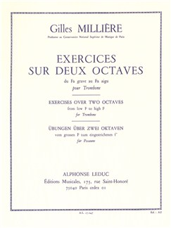Gilles Millière: Exercises Over Two Octaves (Trombone) Buch | Posaune
