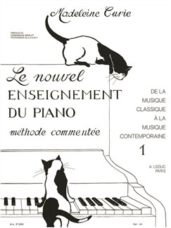 Madeleine Curie: Le Nouvel Enseignement du Piano Vol.1 (Piano Seule) Livre | Piano
